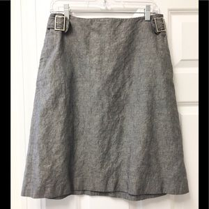 Classy NWOT Limited linen/cotton blend skirt! 💜
